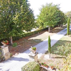 Un parc de 6 hectares aux arbres centenaires